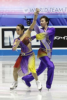 2012 ISU World Team Trophy Cathy REED Chris REED.jpg