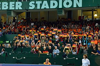 Germany women's national volleyball team - Fans in Euro Championship 2013