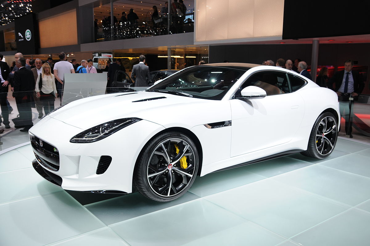 F Type Coupe >> Jaguar F-Type – Wikipedie