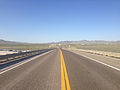 2014-06-10 18 17 35 View north along U.S. Route 93 just north of Nevada State Route 223 in Wells, Nevada.JPG