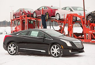 Cadillac ELR - Shipping to dealers of the 2014 Cadillac ELR began in late December 2013.