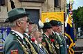 2015-06-20 200 Jahre Schlacht bei Waterloo, Welfenbund, The Royal British Legion, Hannover, Waterloosäule, (23).JPG