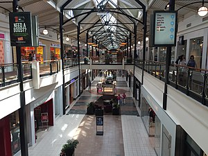Dulles Town Center - Image: 2015 09 24 12 09 40 Interior of the Dulles Town Center Mall in Dulles Town Center, Loudoun County, Virginia