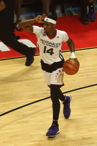 2015–16 Mississippi State Bulldogs men's basketball team - Malik Newman at the 2015 McDonald's All-American Boys Game
