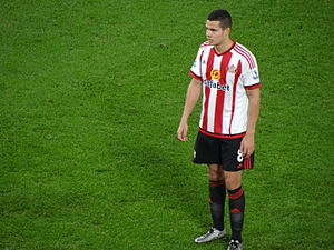 Jack Rodwell - Rodwell playing for Sunderland in 2015