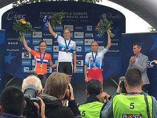 2016 European Road Championships – Womens time trial cycling race