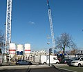 2016 Woolwich, Royal Arsenal Riverside, Crossrail construction site 01.jpg