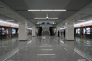 20171227金家渡站站台.jpg
