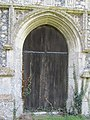 2018-04-20 Doorway, Parish church of Saint Mary the Virgin, Northrepps, Cromer.JPG