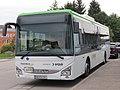 2018-09-14 (400) Iveco Postbus at Bahnhof Pöchlarn, Austria.jpg