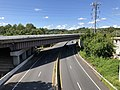 2019-08-25 10 57 23 View south along U.S. Route 1 (Washington Boulevard) from the overpass for the ramp from southbound Interstate 895 to southbound U.S. Route 1 in Arbutus, Baltimore County, Maryland.jpg