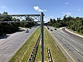 2019-09-03 11 27 32 View south along U.S. Route 29 (Columbia Pike) from the overpass for Maryland State Route 175 (Rouse Parkway) in Columbia, Howard County, Maryland.jpg