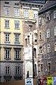 202L34180591 Stadt, Bereich Franz Josefs Kai - Laurenzerberg – Fleischmarkt, im Hintergrund Postgasse, Abbruch Häuser.jpg