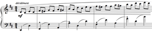 Grande sonate 'Les quatre âges' - The sonata begins with the optimistic 20 ans, played very quickly and lively.