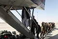 215th Corps soldiers conduct first Afghan-operated leave flight for rest, relaxation 140930-M-YZ032-625.jpg