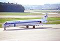 26aq - Finnair MD-82; OH-LMT@ZRH;23.06.1998 (5238243892).jpg