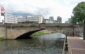 Albert Bridge, Manchester - Image: 2766470 e 4f 6994d