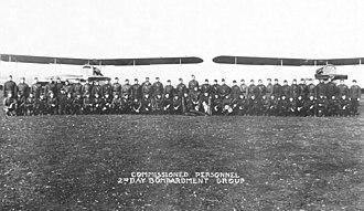 2d Day Bombardment Group - 2d Day Bombardment Group, November 1918