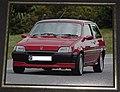308 - Paula Ham's 1990 red Rover Metro GTi, front shot.jpg