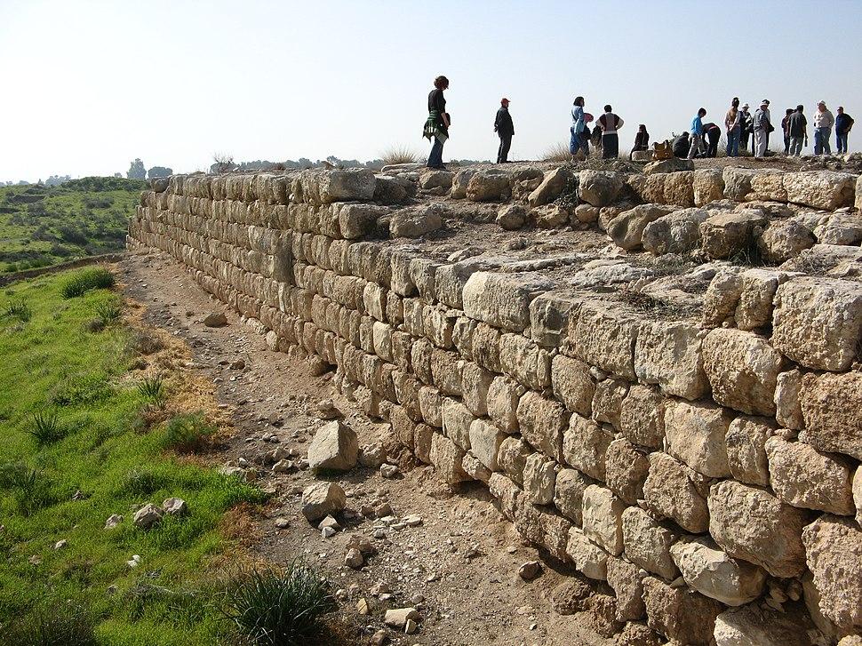 3118 תל לכיש - חומת הארמון