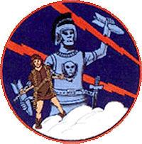 328th Fighter Squadron - World War II - Emblem