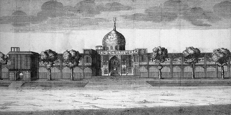 File:34 Chardin Sheikh Lotf Allah Mosque 1705 v2.jpg