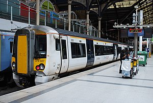 Stansted Express - Image: 379 027 Liverpool St(8091065140)