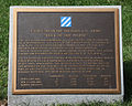 3rd Infantry Memorial - plaque - Arlington National Cemetery - 2011.JPG