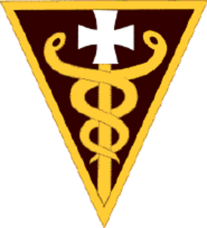 3rd Medical Command (Deployment Support) - Shoulder sleeve insignia
