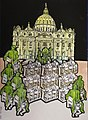4-Urbi et orbe-2. Collage sobre carton 105x75 cm.jpg