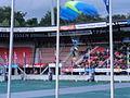 4-daagse Nijmegen 2011 Vlaggenparade 09, parachutelanding.JPG