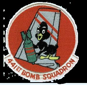 441st Air Expeditionary Squadron - Image: 441st Bombardment Squadron B47 Emblem