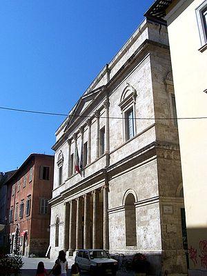 Teatro Ventidio Basso - Theater facade