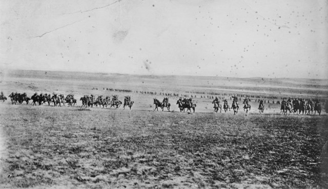 4th Light Horse Brigade Beersheba