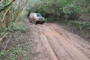 Trail ethics - Off-roading can conflict with other users.