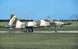 527th Space Aggressor Squadron - 527th TFTAS Northrop F-5E Tiger II - 74-01553, 1979