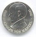 5 Mark DDR 1980 - 75. Todestag von Adolph von Menzel - Bildseite.JPG