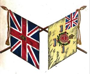 81st Regiment of Foot (Loyal Lincoln Volunteers) - Colours of the 81st (Loyal Lincoln Volunteers) Regiment of Foot
