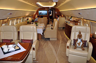 Airbus Corporate Jets - ACJ319 cabin