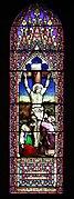 9 Crucifixion window, St Barnabas, Bromborough.jpg