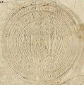 Aŭgust Sas, Pahonia. Аўгуст Сас, Пагоня (1736).jpg