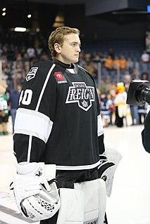 Cal Petersen American ice hockey player