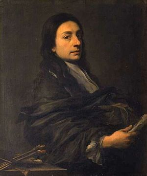 Anton Domenico Gabbiani - Self-Portrait