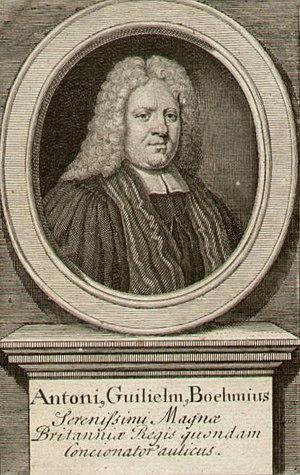 Anton Wilhelm Böhme - Anton Wilhelm Böhme