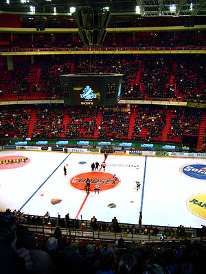 Djurgårdens IF Hockey - Game between AIK vs. Djurgården Hockey