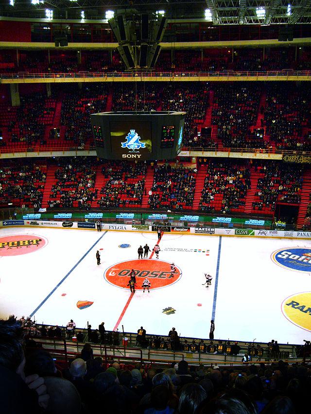 Big ice hockey tillbaka