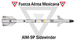 AIM-9 Sidewinder Fuerza Aerea Mexicana.png