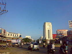 Clock tower at Anantapur