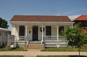 National Register of Historic Places listings in Cooper County, Missouri - Image: ANDREWS WING HOUSE, COOPER COUNTY, MO