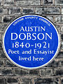 AUSTIN DOBSON 1840-1921 Poet and Essayist lived here.jpg